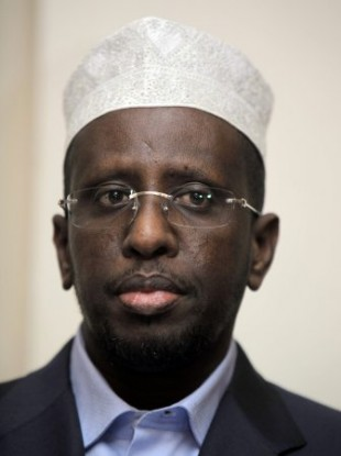 Sharif Sheikh Ahmed, currently the President of Somalia's Transitional Federal Government