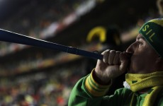 Uefa ban vuvuzelas from European matches