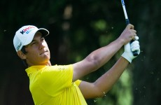 Italian teen sets early pace at European Masters