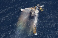 Another oil rig explodes in the Gulf of Mexico