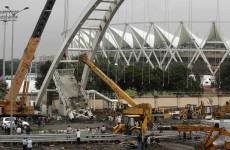 Roof collapses at Commonwealth Games weightlifting venue