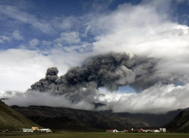 Four TDs and one senator were stranded abroad due to flight cancellations after the Eyjafjallajokull ash cloud.