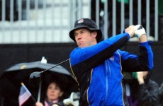 Ryder Cup underway despite bad weather