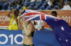 Aussie sprinter takes gold only to be disqualified