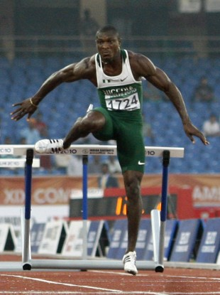 Samuel Okon, the second Nigerian sprinter to fail a doping test, had come 6th in the 110m hurdles final.