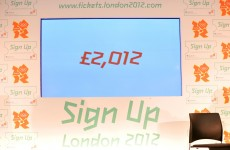 Olympic ticket prices to range from £20.12 to £2012