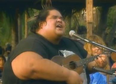 meet joe black somewhere over the rainbow song by hawaiian