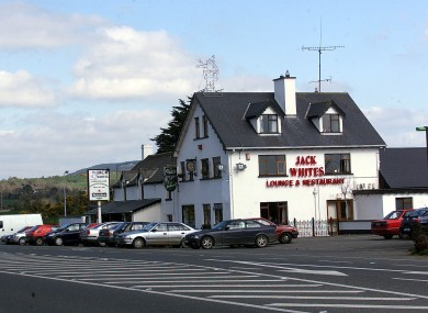 Jack White's Pub at Brittas, Co Wicklow, where Tom Nevin was murdered in March 1996.