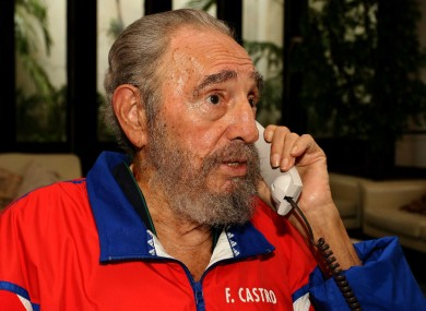 Fidel Castro, pictured in 2006: the then-President of Cuba had been close to death after refusing to undergo a colostomy procedure, a WikiLeaks document claims.
