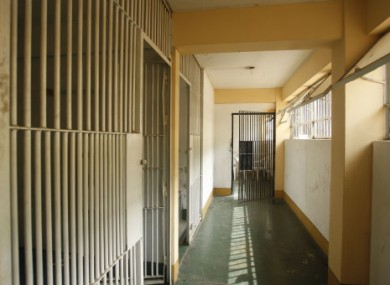 File photo of a prison cell block.