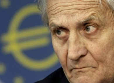 In this June 10, 2010 photo, President of the European Central Bank (ECB) Jean-Claude Trichet is shown in Frankfurt.