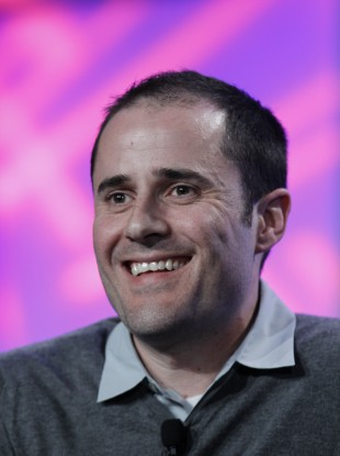 Twitter co-founder and former CEO, Evan Williams: the site founded by Williams and others is now worth $3.7bn.