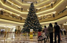 In photos: Abu Dhabi boasts world's most expensive Christmas tree