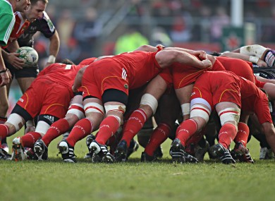 Munster rugby: an unnamed Munster player was arrested in the early hours of Tuesday morning over a public order offence.