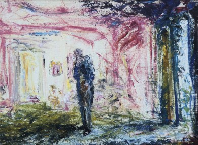 Pic exclusive: A Man In A Room Thinking, 1947, by Jack B Yeats.