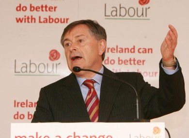 Labour's Brendan Howlin says the party's policies would stop Ireland 'lurching from one crisis to the next'.