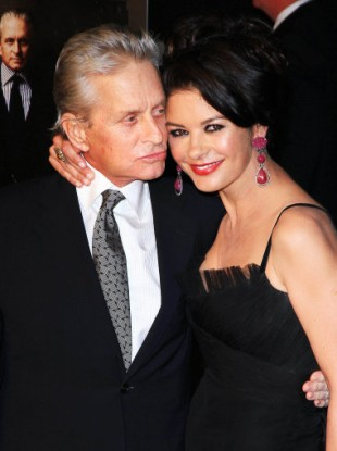 Michael Douglas and Catherine Zeta-Jones at the Wall Street: Money Never Sleeps premier, 22 September, 2010.