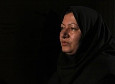 File photo of Ashtiani released by Iranian state-run Press TV.