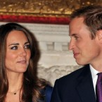 Prince William and Kate Middleton, during a photocall in St James's Palace, London to mark their engagement.