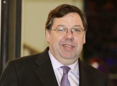 Brian Cowen was in buoyant mood this morning in the Dail