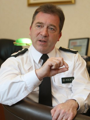 PSNI Chief Constable Matt Baggott