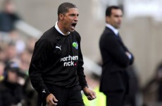 Hughton the front-runner for Baggies hotseat
