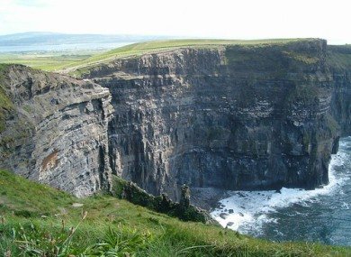 The Cliffs of Moher, Clare