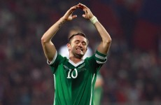 Robbie Keane a doubt for crucial Macedonia game