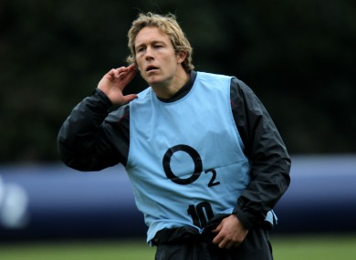 What, what? Jonny Wilkinson will try to kick England to overdue title.