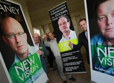 Apart from the usual party politics, independents Eamon Blaney, Paul Doonan and Nick Crawford launched their election campaigns under the banner of 'New Vision'