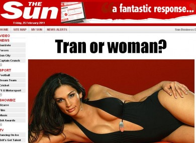 Transvestite funny website