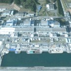 The Fukushima I power plant, where two explosions have occurred, photographed in 2004.