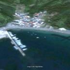 The port of Iigohama, Miyagi, photographed in 2007...