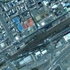 Here's the railway town of Onahama, pictured in 2005...