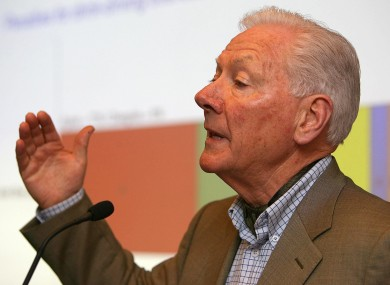 Gay Byrne says that while the number of letters he receives has fallen since retirement, he still receives hate mail.