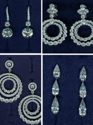 A composite image of just some of the items stolen in the 2009 raid.