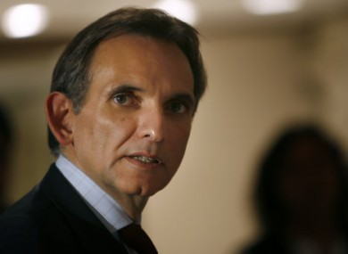 Carlos Pascual, who has resigned his position as the US Ambassador to Mexico.