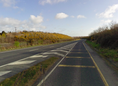 The GoSafe mobile camera was parked alongside the old N11, just south of Arklow.