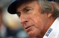 F1 legend Stewart taken ill on flight