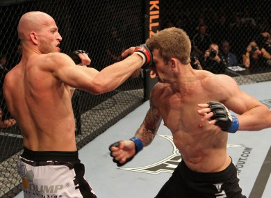 Jewtuszko versus Warburton at UFC 127 at Acer Arena, Sydney.