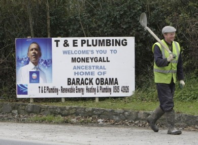 As well as new jobs, Moneygall is expecting a visit from Barack Obama.