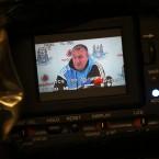 Dublin football boss Pat Gilroy faces the media at his regular Friday briefing.<span class=