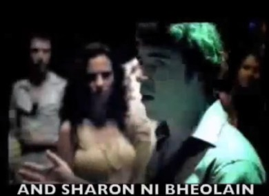 The famous Carlsberg ad that shows three Irish men's ability to speak as Gaeilge