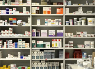 File photo of a pharmacy.