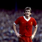 The striker during a game in 1982. <span class=