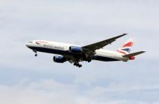 BA flight to Boston stops in Shannon following 'technical fault'