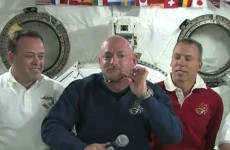 """Good news from space: Gabrielle Giffords doing """"really well"""" after skull surgery"""