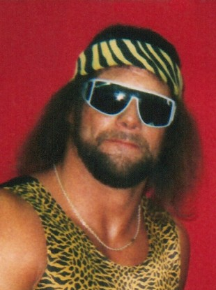 Randy Savage in 1986.