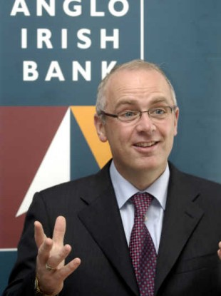David Drumm in 2006 when he was still Anglo Irish Bank's CEO