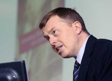 Financial regulator Matthew Elderfield
